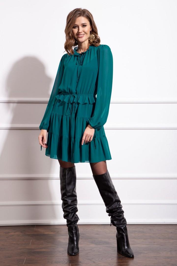 Платье Nova Line 50172 темно-бирюзовый