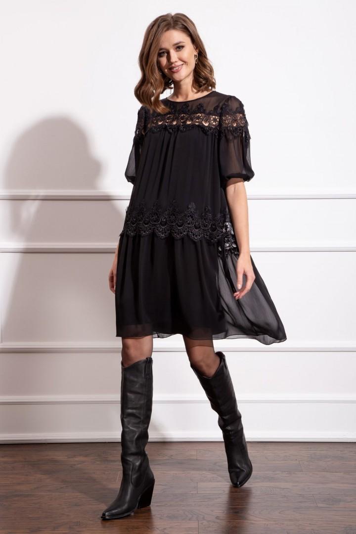 Платье Nova Line 50179 черный