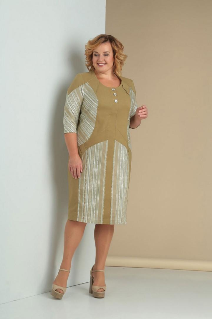 Платье Новелла Шарм 3081 песочный