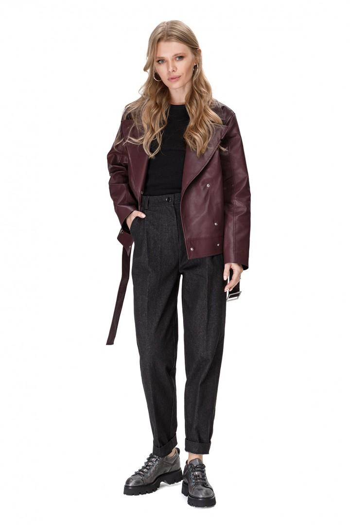 Куртка Pirs 1675 баклажан