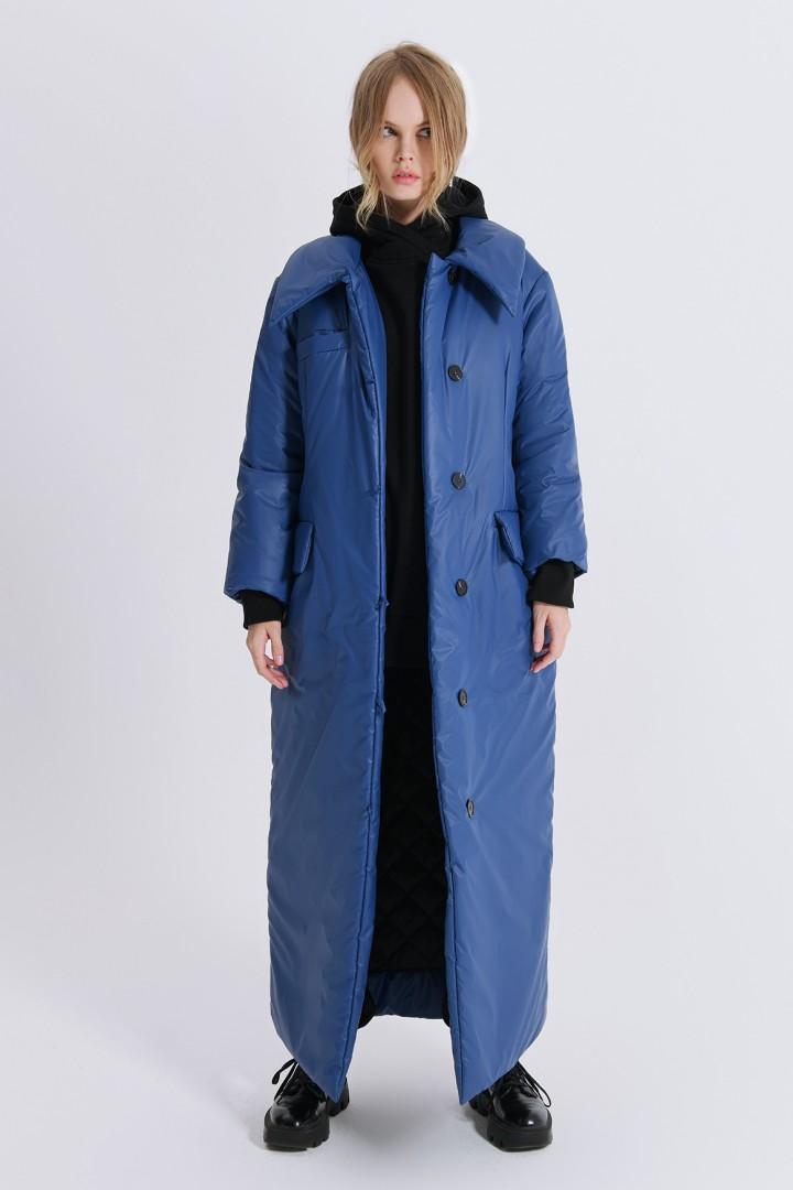 Пальто Pirs 2499 синий