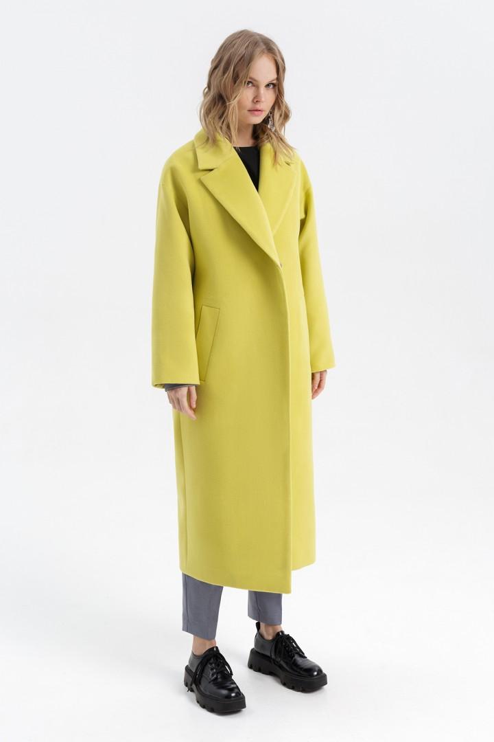 Пальто Pirs 2778 лимонный