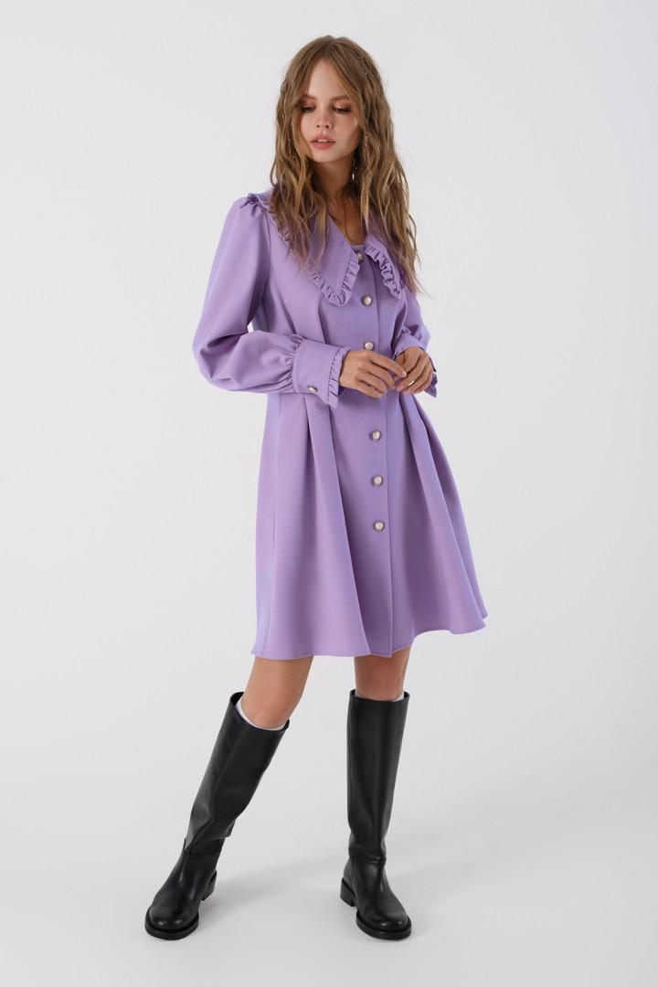 Платье Pirs 3411 лавандовый