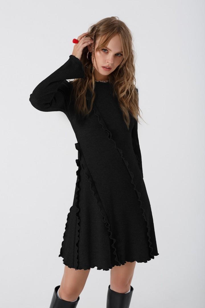 Мини-платье Pirs 3438 черный