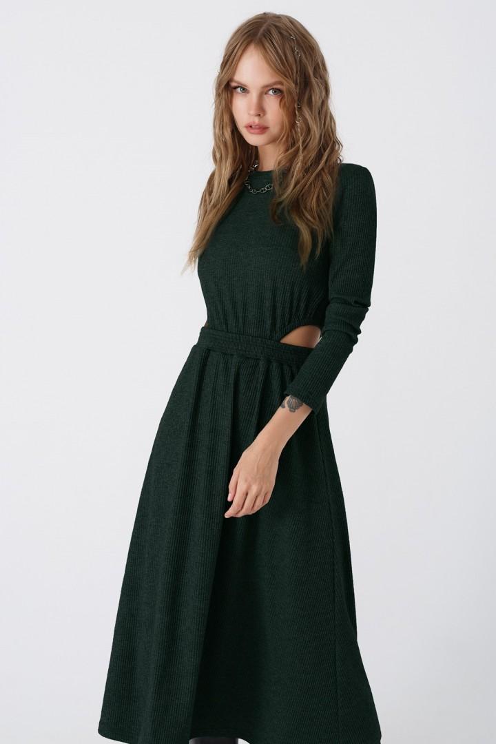 Платье Pirs 3444 изумрудный