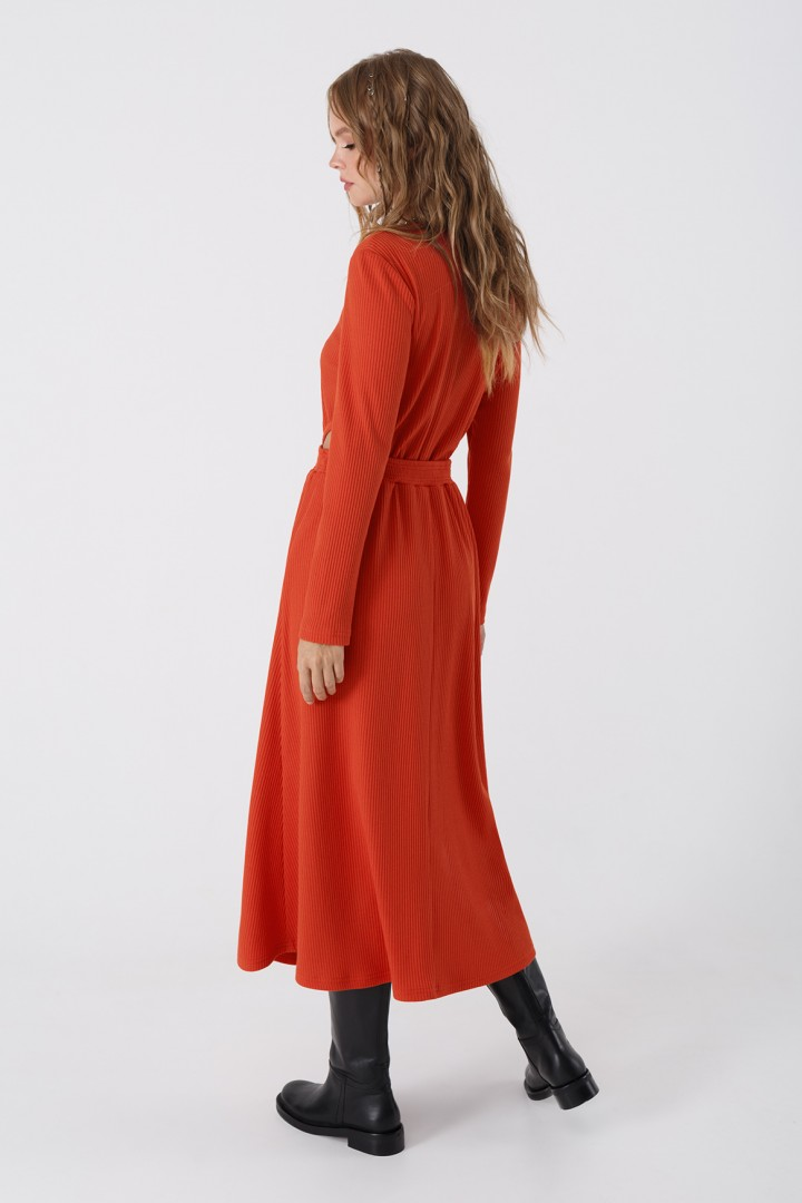 Платье Pirs 3444 оранжевый
