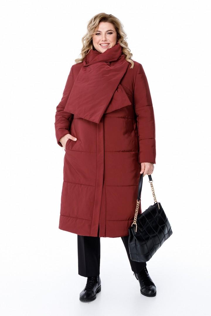Пальто Pretty 1875 бордо