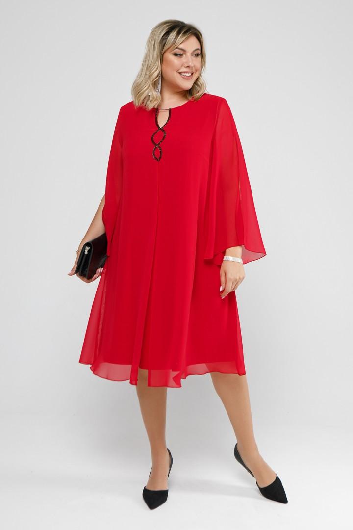 Платье Pretty 2045 красный