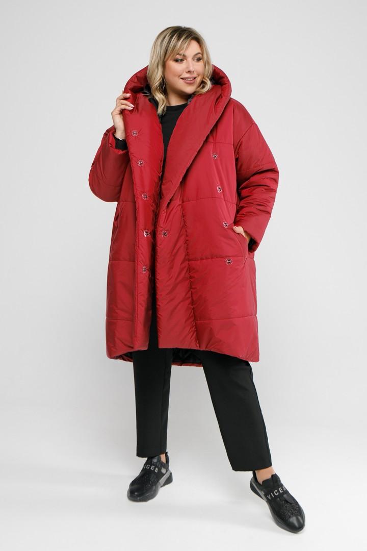 Пальто Pretty 2048 красный