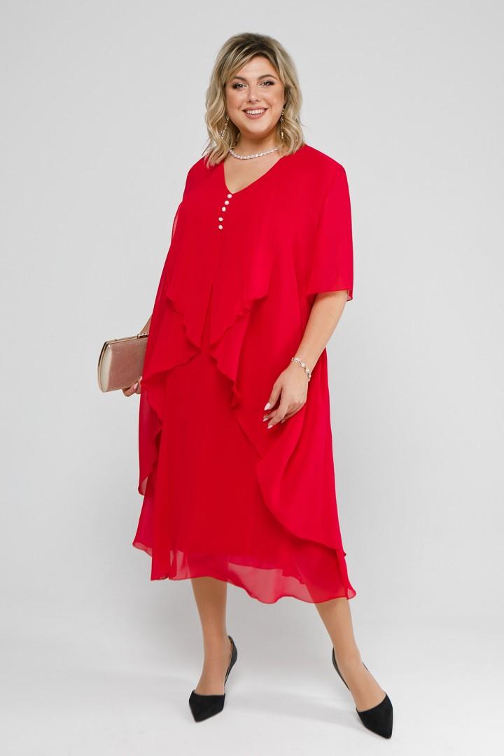 Платье Pretty 915 алый