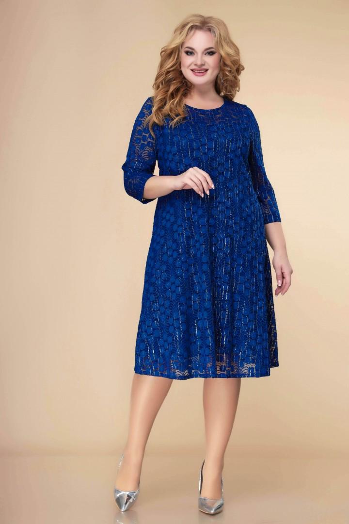Платье Romanovich Style 1-2241 василек