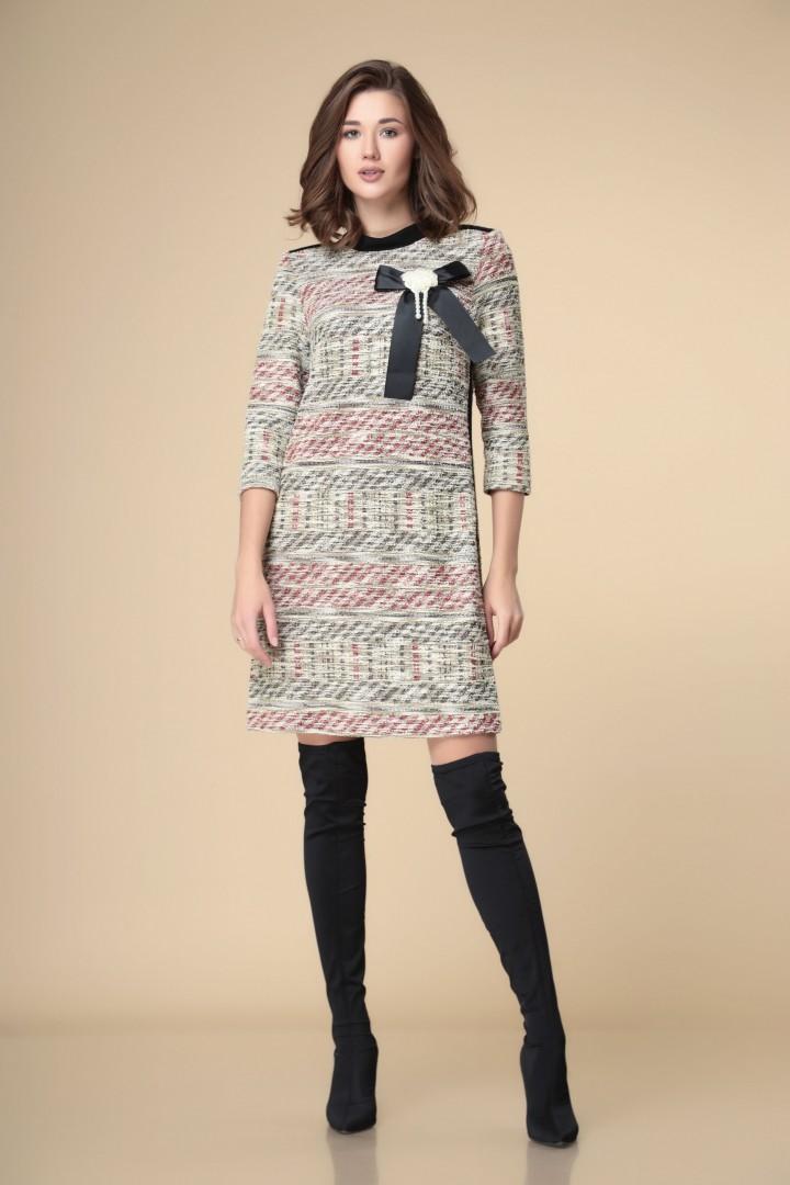 Платье Romanovich Style 1-2247 мультиколор