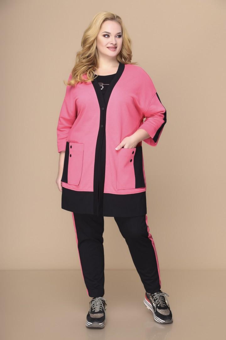 Костюм Romanovich Style 3-1882 розовый\черный