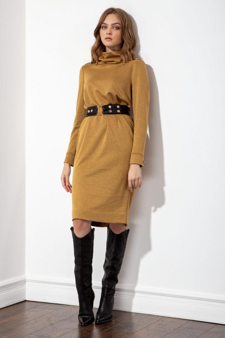 Платье S_ette S5046 золотистый