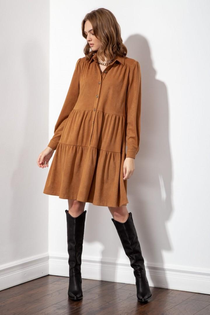 Платье S_ette S5047 тоффи