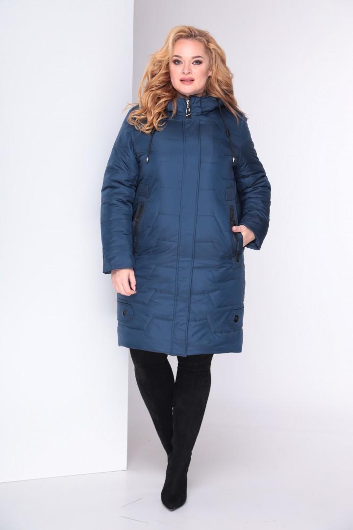 Пальто Shetti 2025 синий