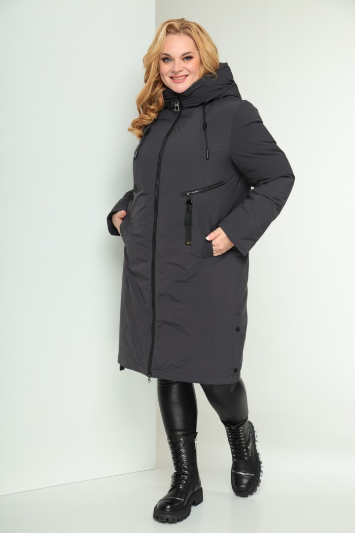 Пальто Shetti 2029 графит