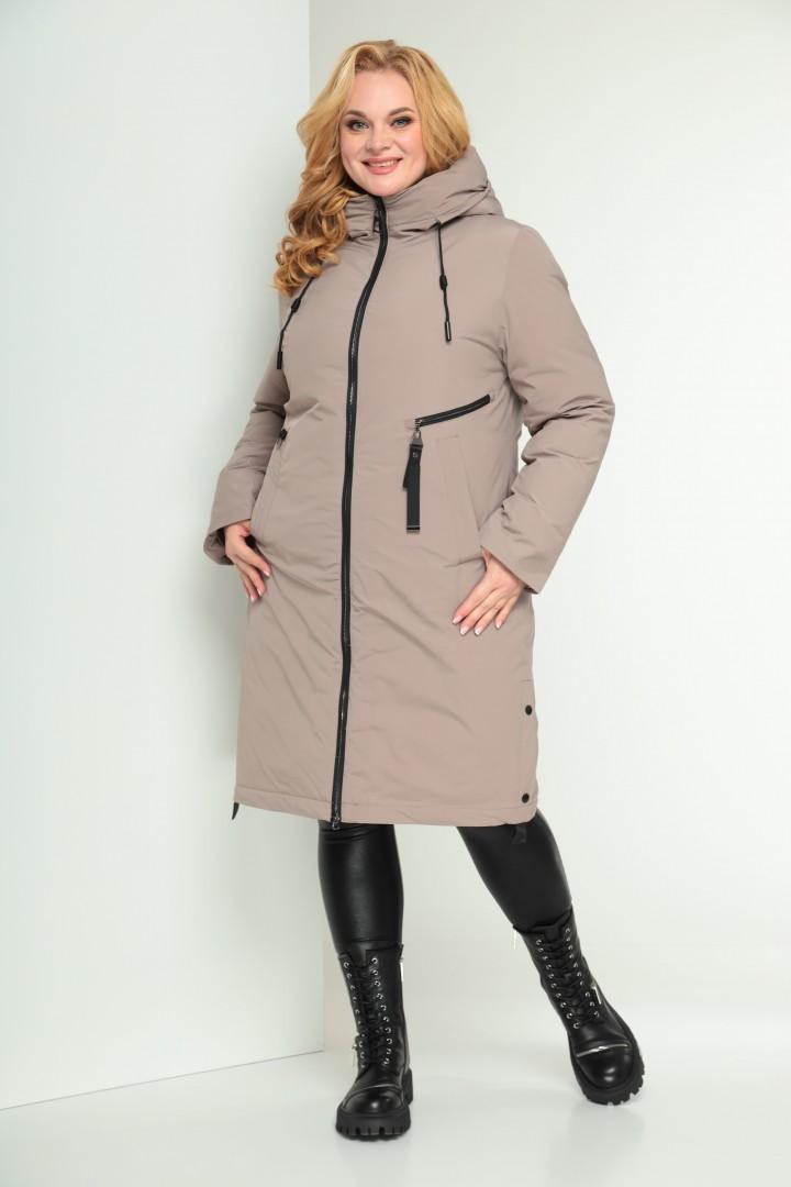 Пальто Shetti 2029 пудра