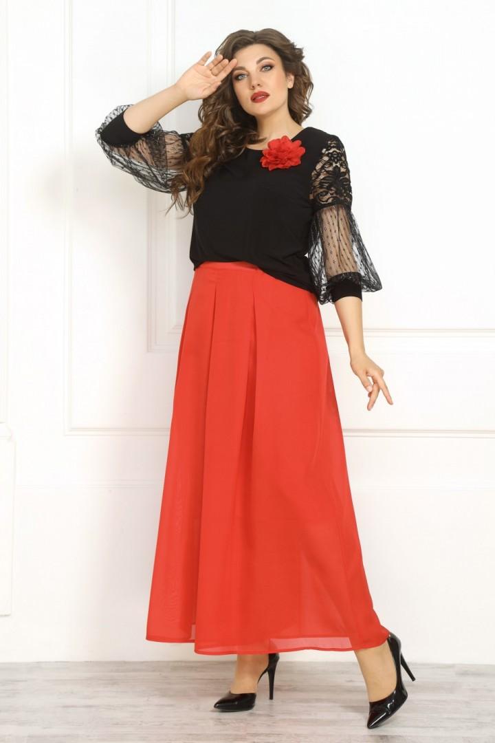Юбка-брюки Solomea Lux 848 красный