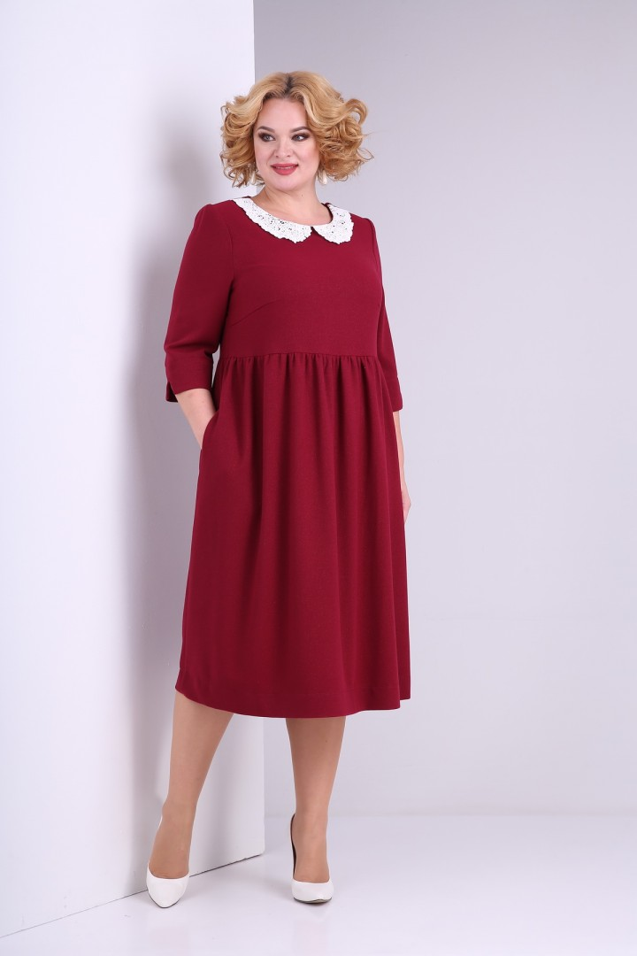 Платье SOVITA 2132 бардо