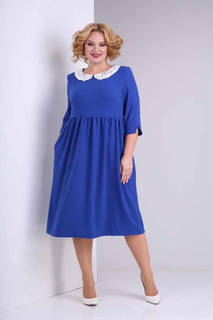 Платье SOVITA 2132 василек