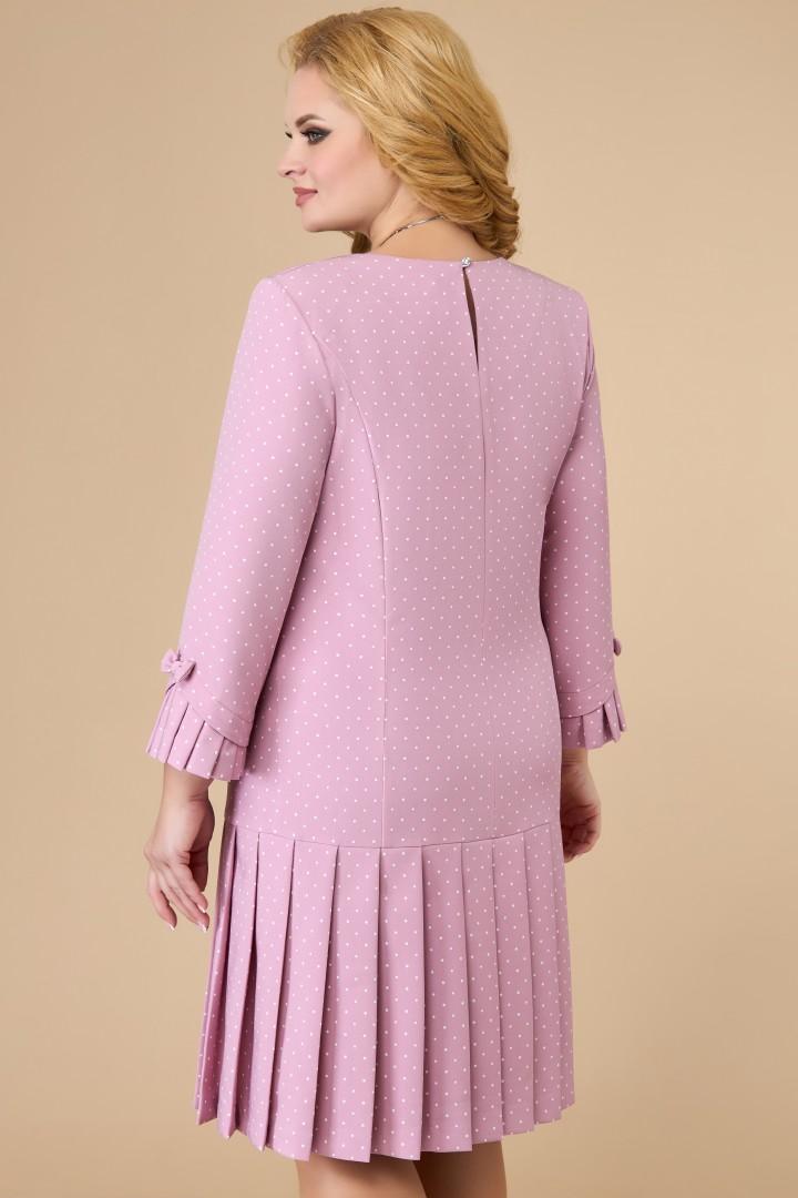 Платье Светлана-Стиль 1429.08 клевер+горох