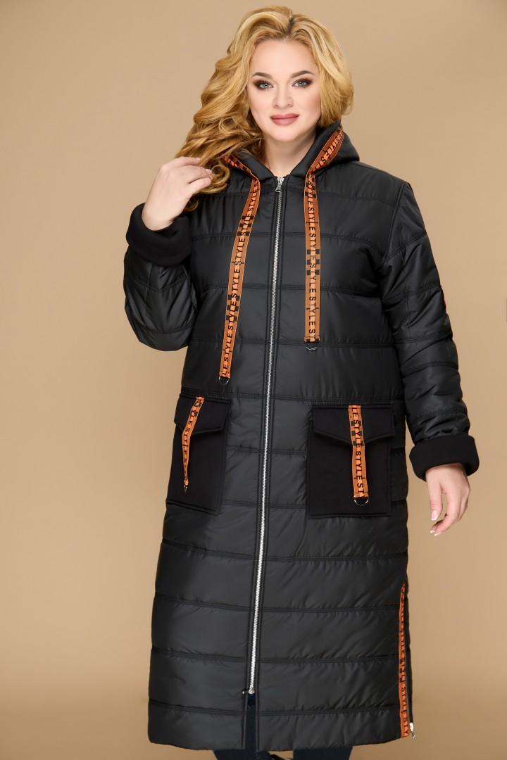 Пальто Светлана-Стиль 1460 черный 2