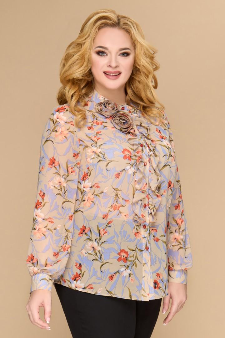 Блузка Светлана-Стиль 1594 бежевый