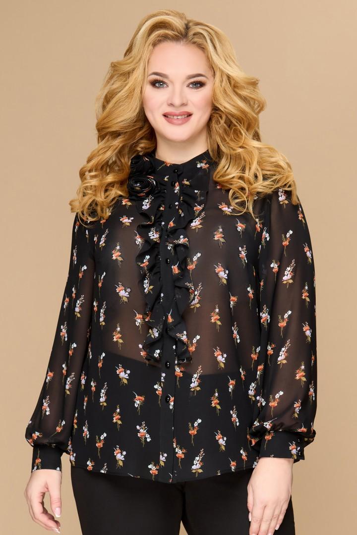 Блузка Светлана-Стиль 1594 черный