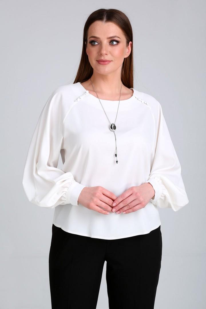 Блузка Таир-Гранд 62368-1 белый