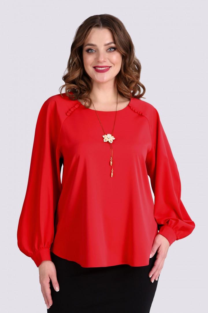 Блузка Таир-Гранд 62368 красный