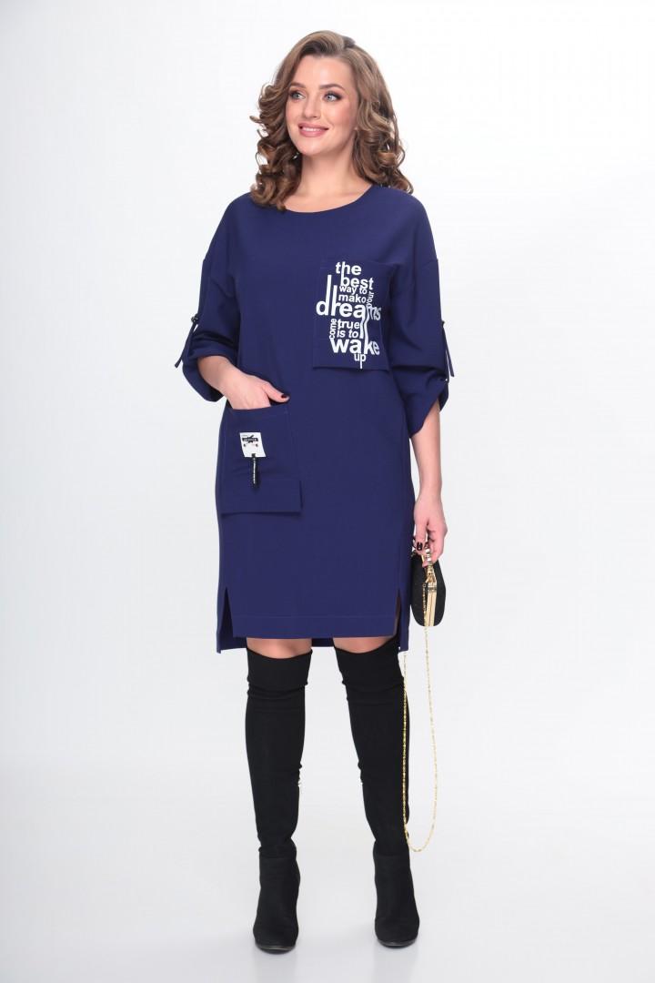 Платье TAITA PLUS 2133/11 фиолетовый