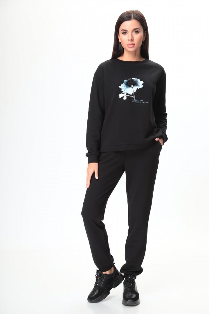Костюм Talia Fashion 370 черный
