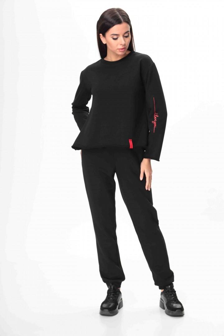 Костюм Talia Fashion 371 черный