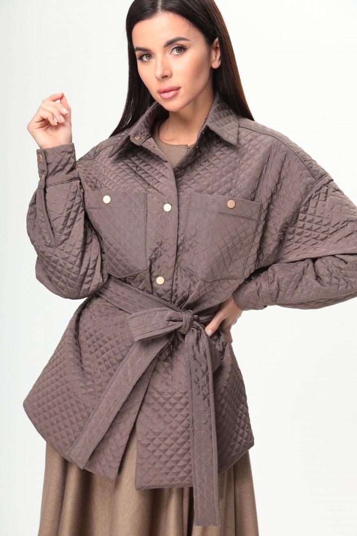 Куртка Talia Fashion 372 шоколад
