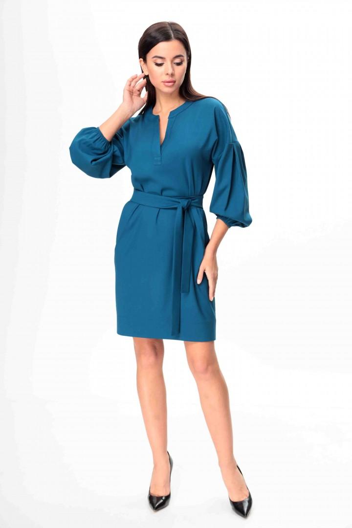 Платье Talia Fashion 374 темно-бирюзовый