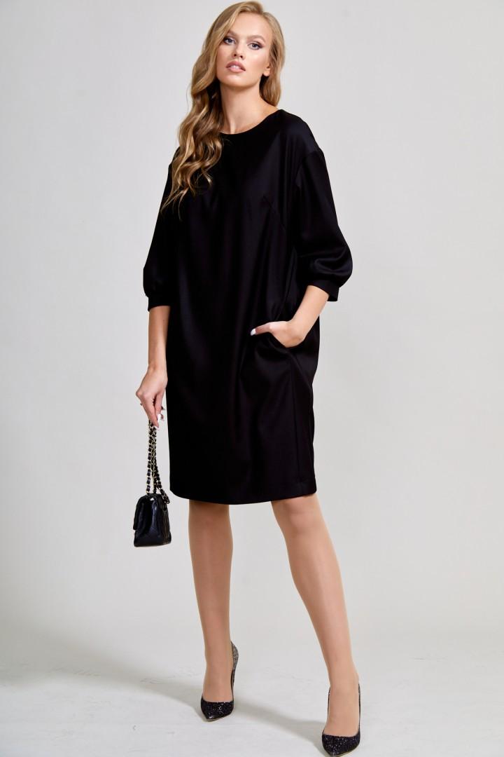 Платье ТЭФФИ-стиль 1578 черный