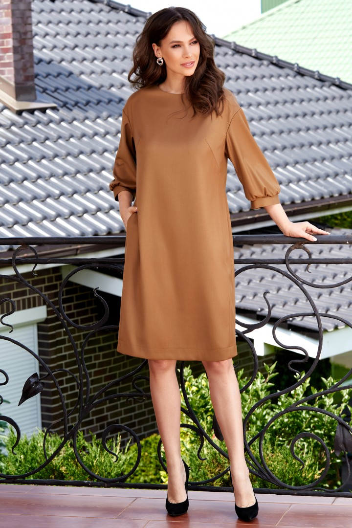 Платье ТЭФФИ-стиль 1578 золото