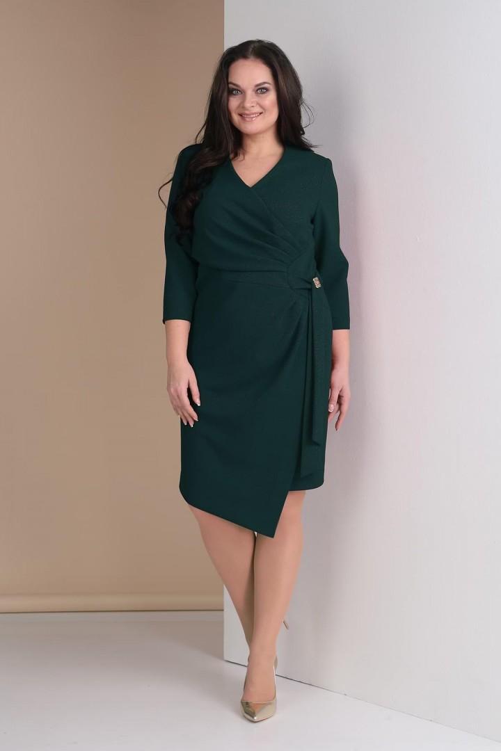 Платье Тэнси 261 изумруд