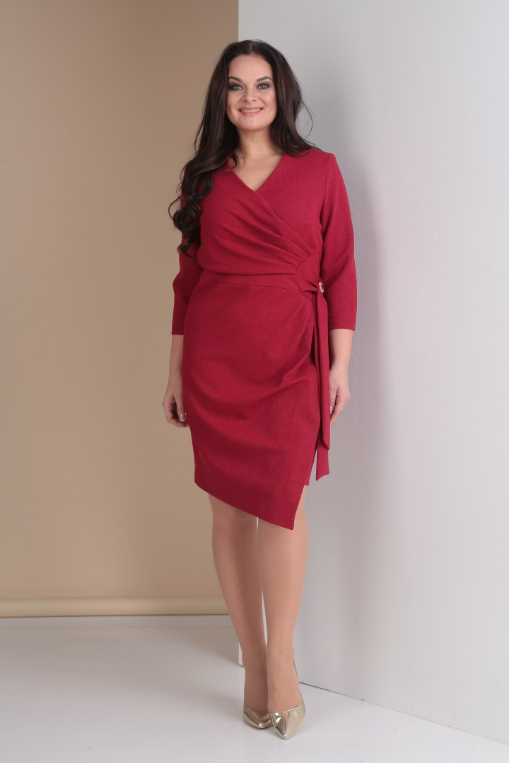 Платье Тэнси 261 винный