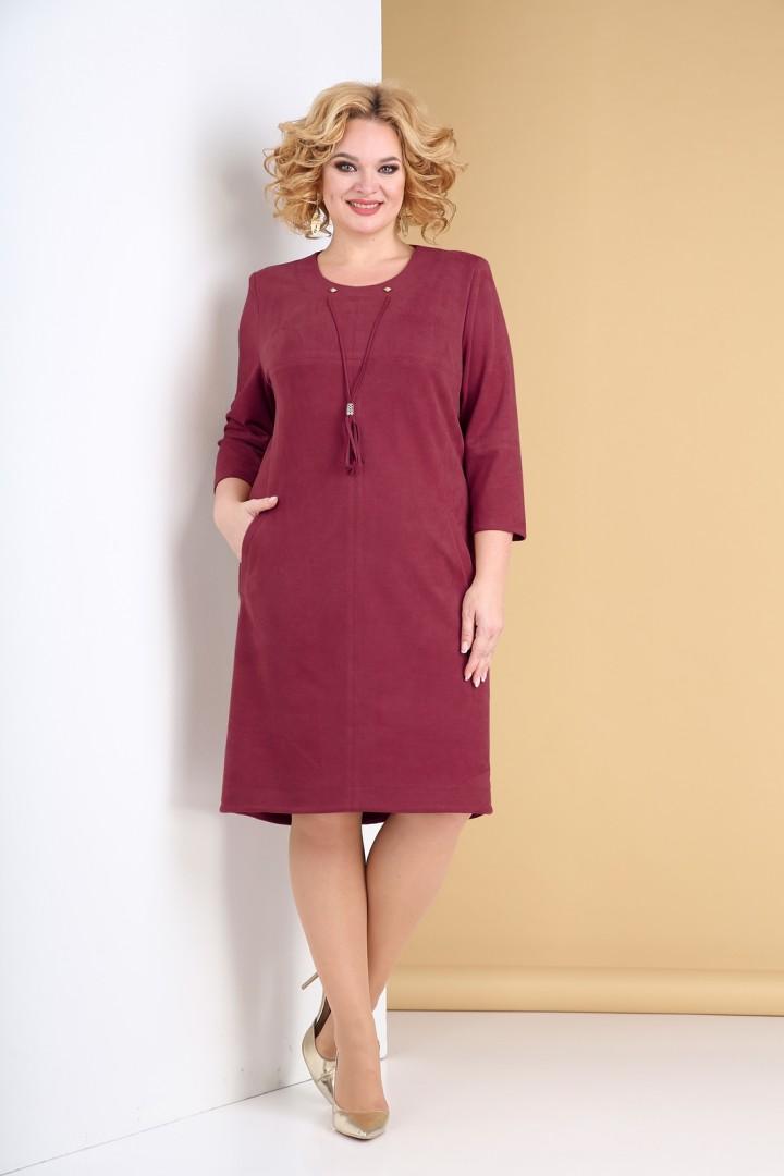 Платье Тэнси 318 винный