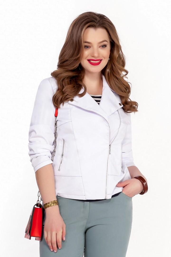 Куртка TEZA 1238 белый