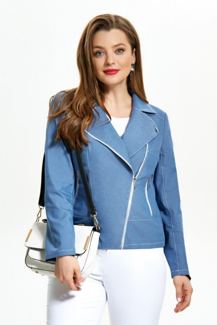 Куртка TEZA 1238 голубой