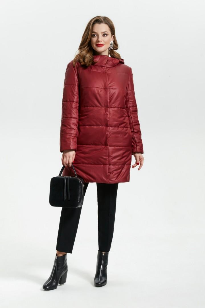Куртка TEZA 1799 бордовый