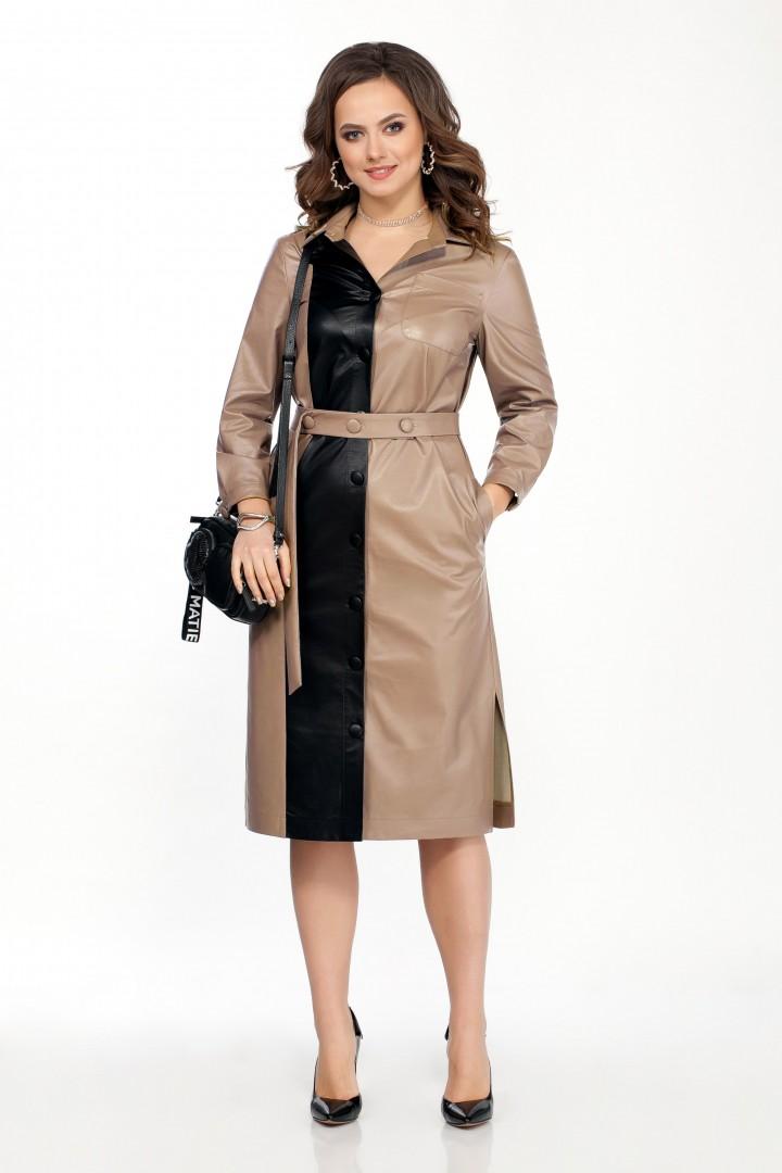 Платье TEZA 2051 бежевый