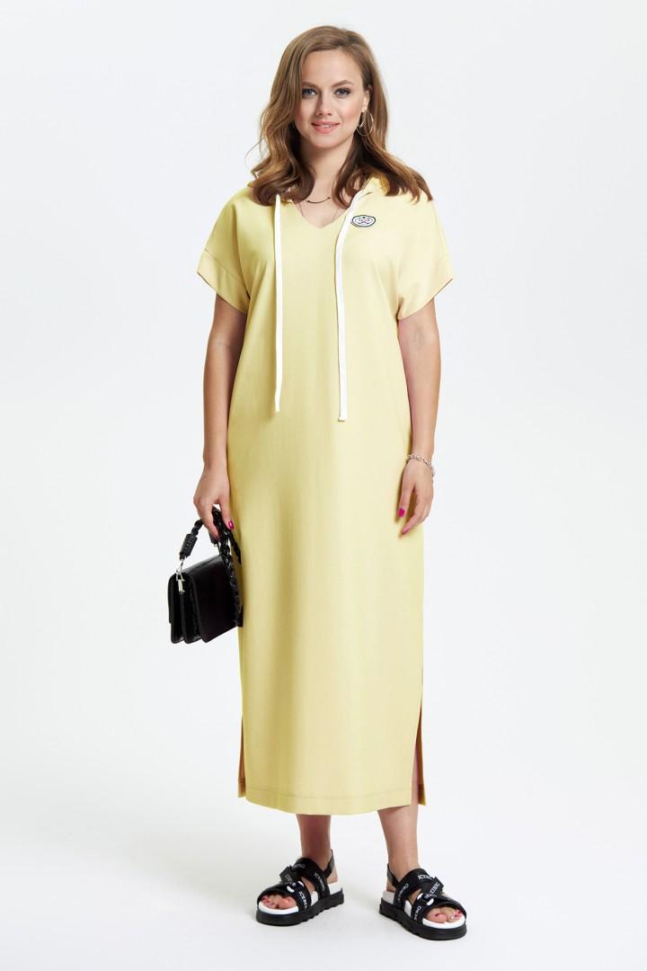 Платье TEZA 2664 желтый