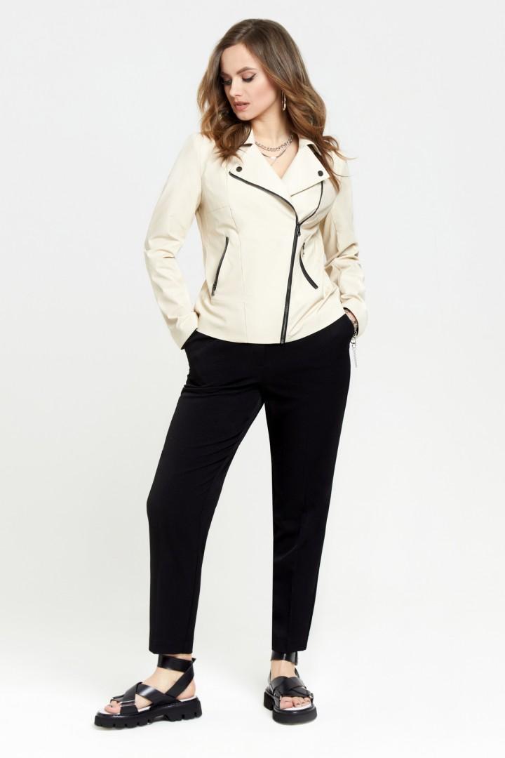 Куртка TEZA 948 молочный
