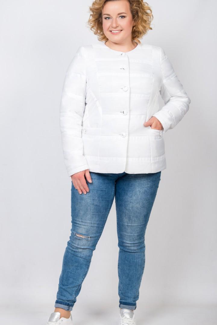 Куртка Трикотекс Стиль 1507 белый