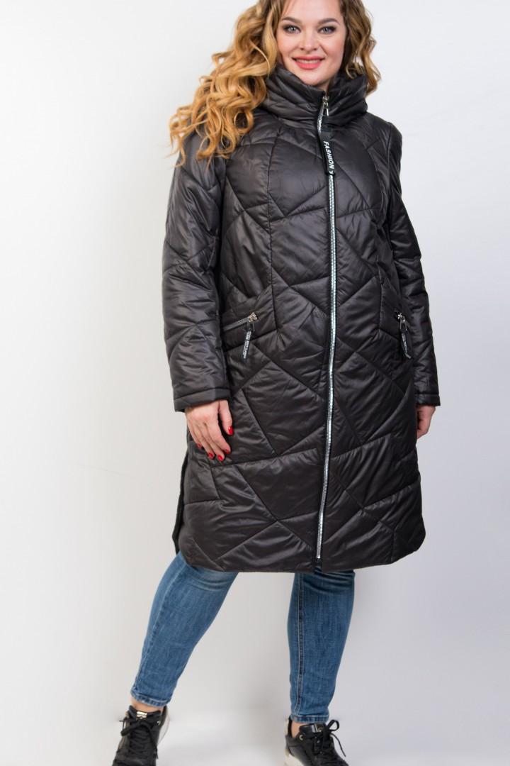 Пальто Трикотекс Стиль 3420 черный
