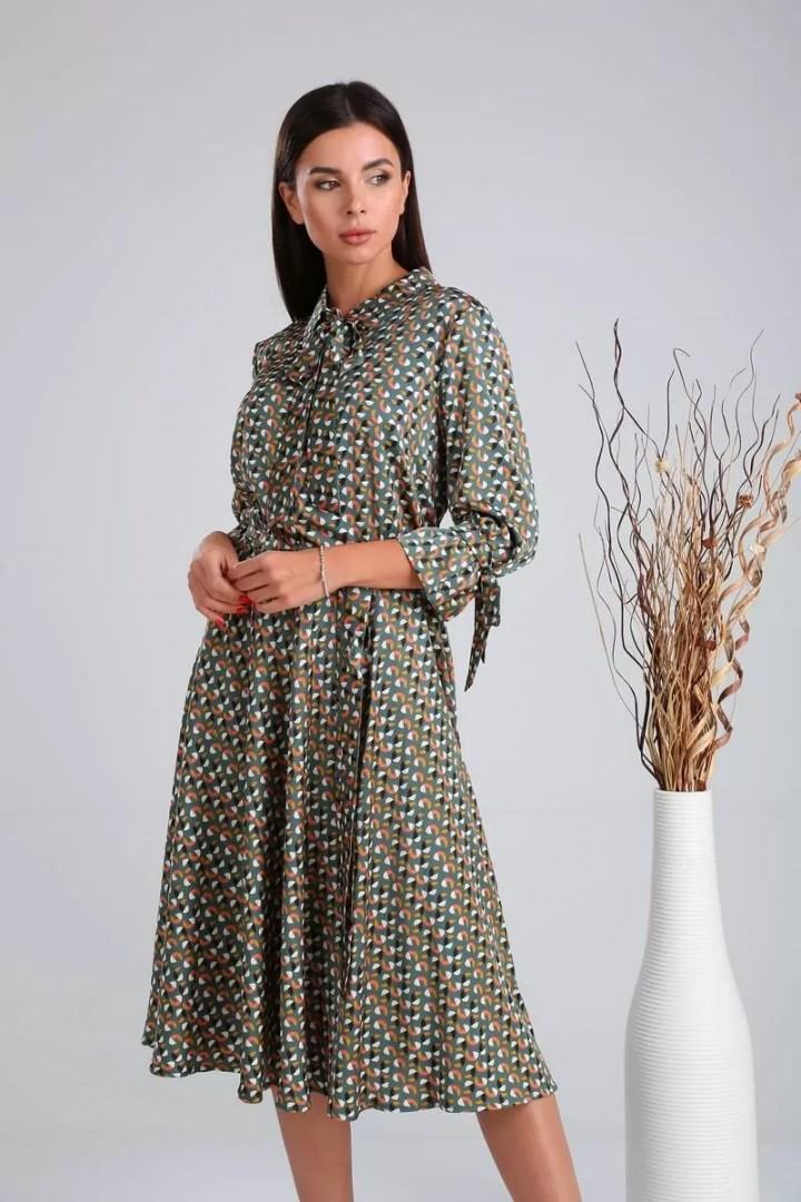 Платье Верита 2014 зеленый